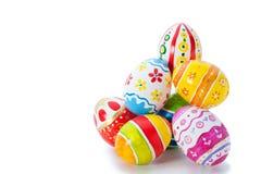 Huevos del color de Pascua Imagen de archivo
