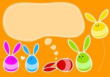 Huevos del conejito de pascua