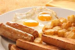 Huevos del desayuno Imagen de archivo libre de regalías