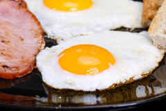 Huevos del desayuno Foto de archivo