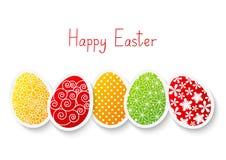Huevos del papel de Pascua
