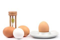 Huevos del pollo Fotografía de archivo