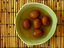 Huevos del té Imágenes de archivo libres de regalías