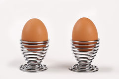 Huevos divertidos Foto de archivo