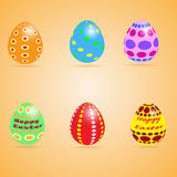 Huevos divertidos del comedor libre illustration