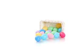 Huevos en colores pastel Fotografía de archivo libre de regalías