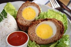 Huevos escoceses Foto de archivo