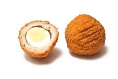 Huevos escoceses Fotos de archivo