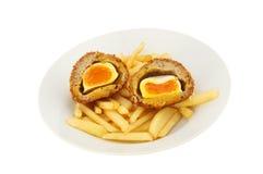 Huevos escoceses Fotografía de archivo libre de regalías