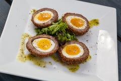 Huevos escoceses del artesano Fotos de archivo