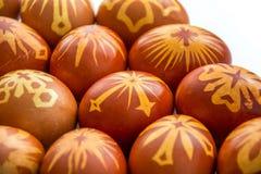 Huevos felices adornados del éster fotos de archivo libres de regalías