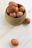 Huevos frescos Imagen de archivo