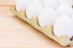 Huevos frescos del pollo Fotos de archivo libres de regalías