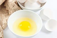 Huevos frescos sanos Imagen de archivo libre de regalías
