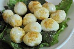Huevos fritos Foto de archivo libre de regalías