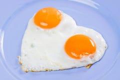 Huevos fritos Imagen de archivo