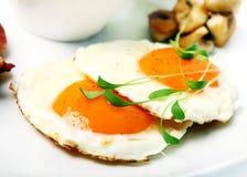 Huevos fritos Fotografía de archivo