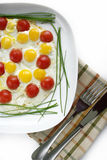 Huevos fritos Fotografía de archivo libre de regalías