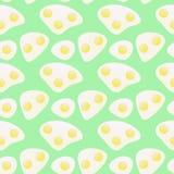 Huevos fritos del modelo Fotografía de archivo