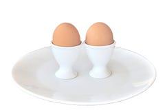 Huevos hervidos Fotos de archivo libres de regalías