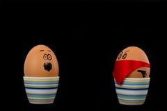 Huevos hervidos Fotografía de archivo