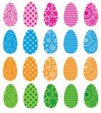 Huevos llenados modelo Fotos de archivo libres de regalías