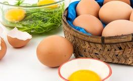 Huevos para el cocinero Foto de archivo libre de regalías