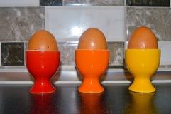 Huevos para el desayuno Fotografía de archivo libre de regalías