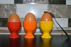 Huevos para el desayuno foto de archivo libre de regalías