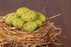 Huevos pintados para Pascua Imágenes de archivo libres de regalías