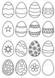 Huevos que usted colorea Foto de archivo libre de regalías