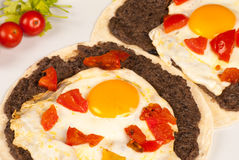 Huevos rancheros Stock Images