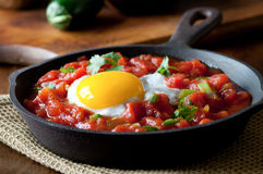 Huevos Rancheros Royalty Free Stock Photography
