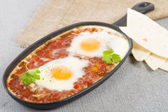 Huevos Rancheros Royalty Free Stock Images