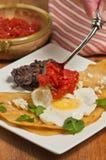 Huevos rancheros Stock Photography