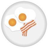 Huevos revueltos Fotografía de archivo libre de regalías