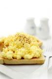 Huevos revueltos 3 Foto de archivo libre de regalías