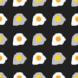 Huevos revueltos Imagen de archivo