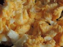 Huevos revueltos Fotografía de archivo
