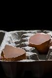 Huevos usados Fotos de archivo libres de regalías