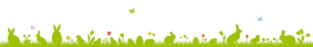 Huevos y conejitos de Pascua