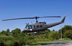 Huey公共事业直升机 库存照片