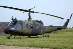 Huey直升机 免版税库存图片