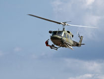 Huey Chopper Medevac Stock Image