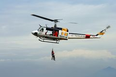 Huey Hubschrauber Stockfotografie