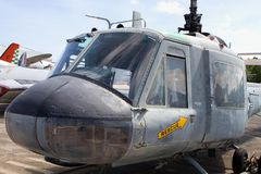 Huey Iroquois Helicopter Stock Photography