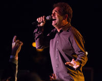 Huey Lewis and The News Live in Bend, Oregon Royalty Free Stock Images