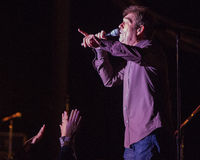 Huey Lewis and The News Live in Bend, Oregon Stock Images