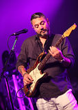 Huey Morgan - Fun Lovin Criminals - Lounge on the Farm Festival Royalty Free Stock Photo