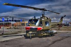 Huey restaurou o helicóptero Fotografia de Stock